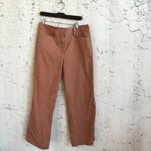 LANDS ENDS WIDE LEG ROSE PANTS 12